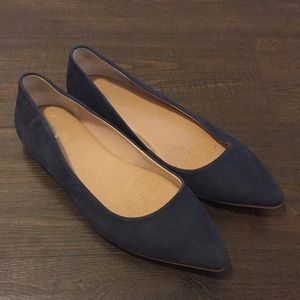 "Leather ballet flats ""Kimber"""